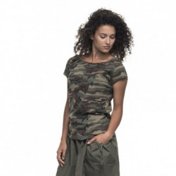 camo lady - T-shirty